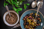 Tapenade and assorted olives