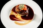Tournedos rossini steak with foie gras french steak dish with